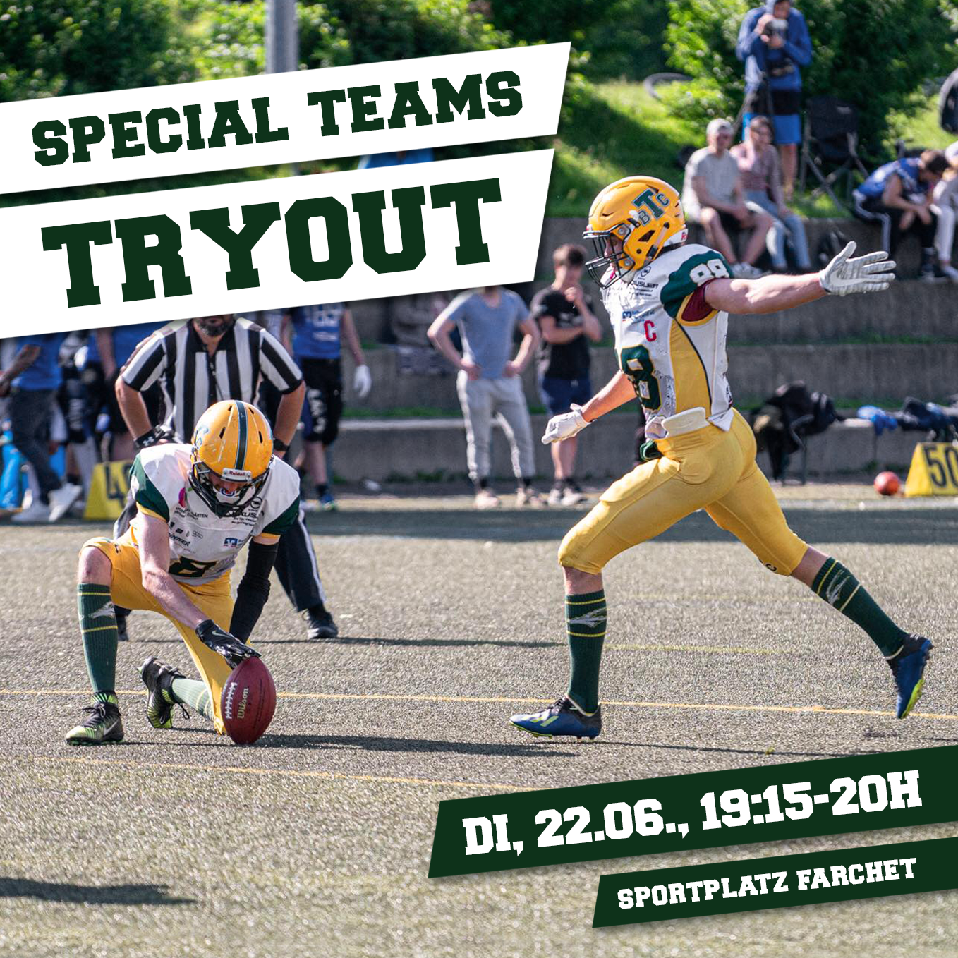 Capricorns Tryout Special Teams